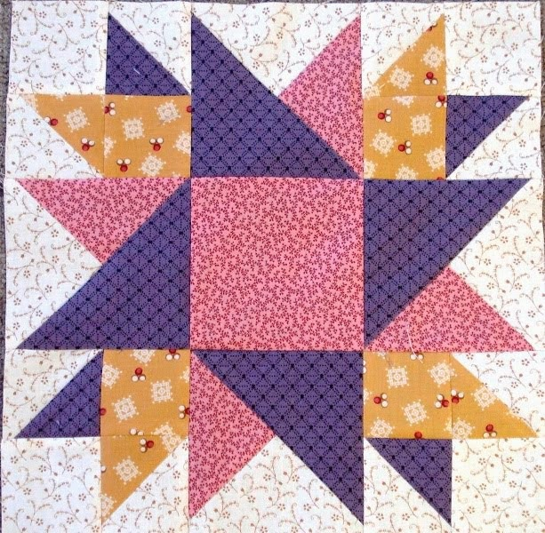 July 2014 Second Saturday Sampler Block
