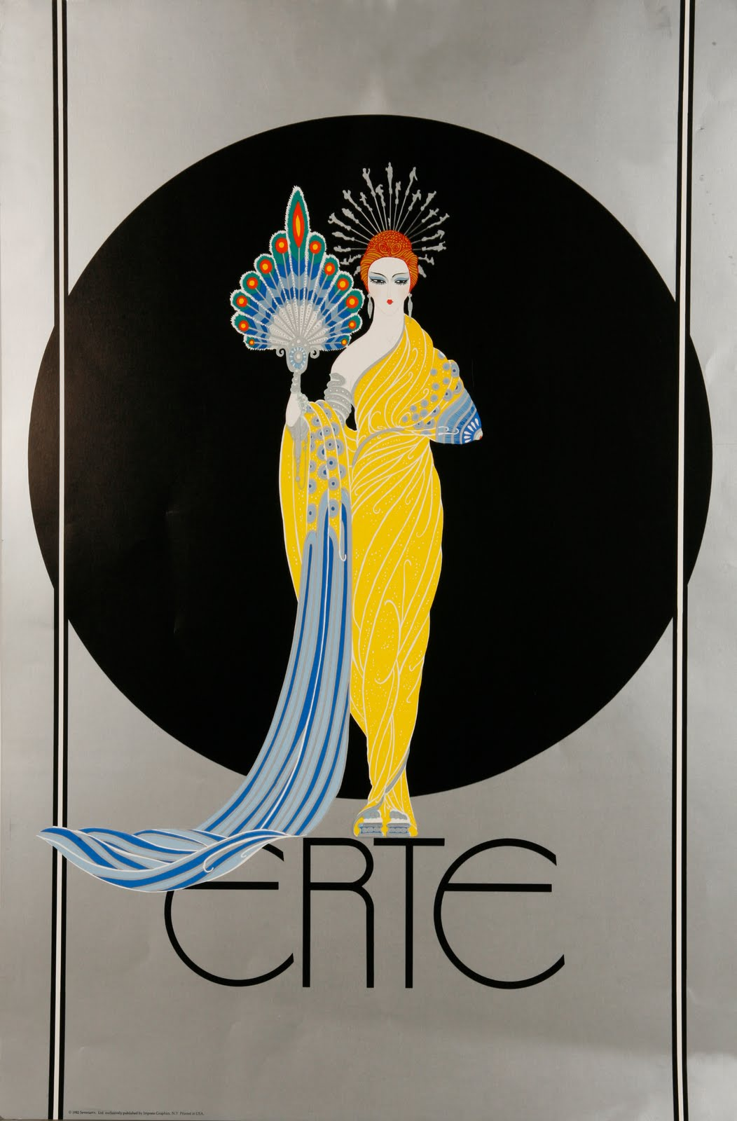 Cre8tiv glory e is for erte and elegance for Design art deco
