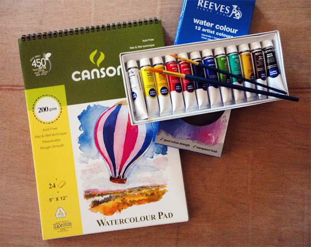Art Li and Stuff - Watercolour Painting Materials