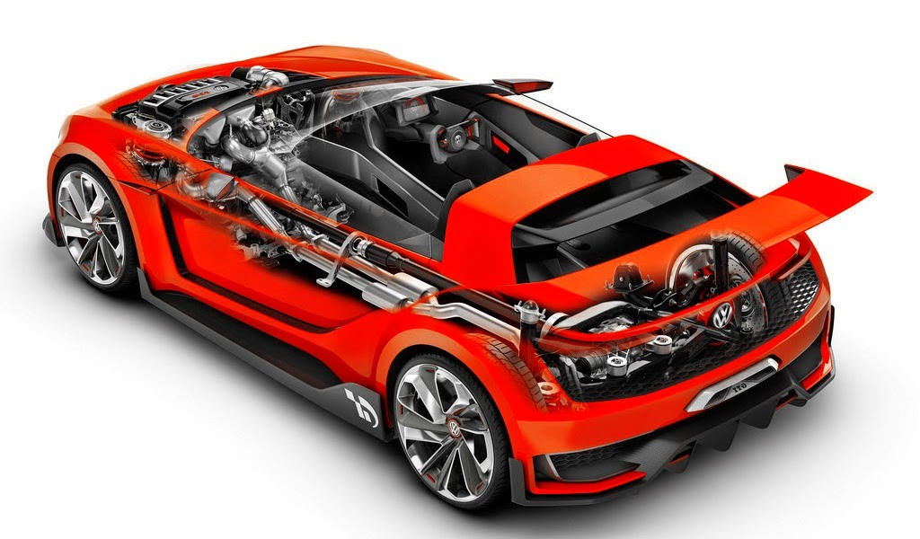 2014 Volkswagen GTI Roadster Engine