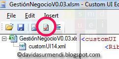 Botón para validar el código XML