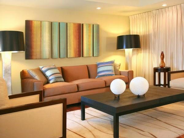 Berbagai warna ruang tamu 4