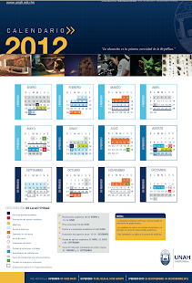 Calendario Academico 2012