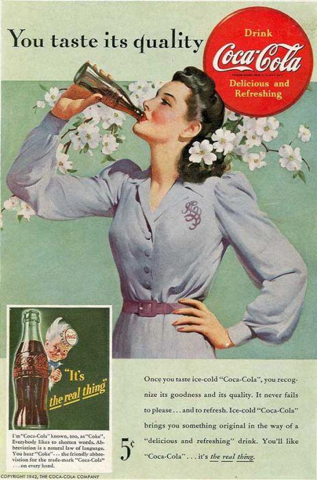 vintage coca cola advertising posters damn cool pictures. Black Bedroom Furniture Sets. Home Design Ideas