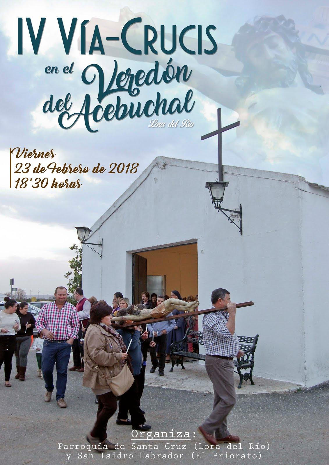 VÍA-CRUCIS EN EL VEREDÓN