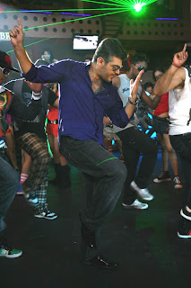 ajith dance in mangatha