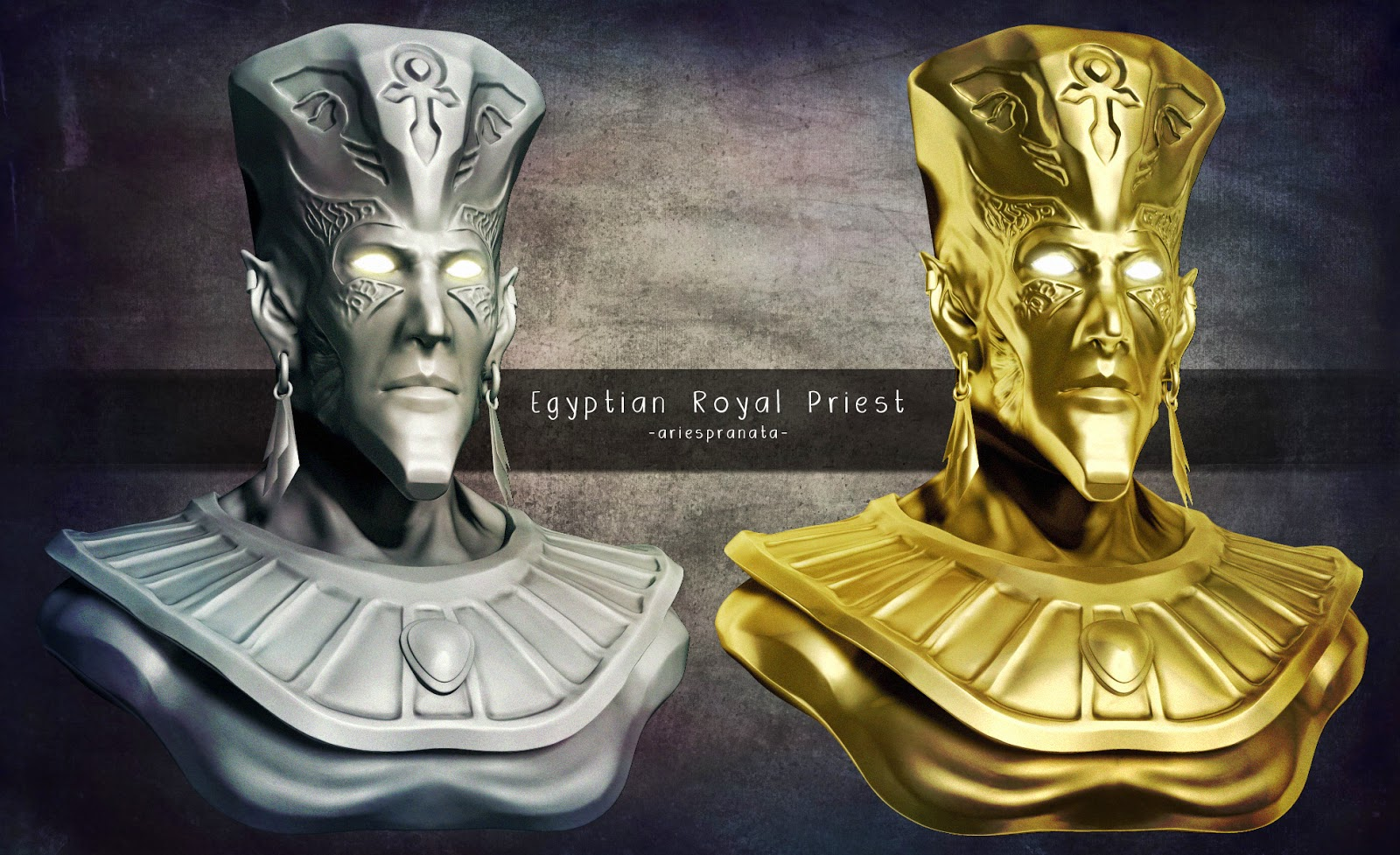 Egyptian Royal Priest Concept