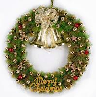 Christmas Decorations 80CM/100CM Big Pinecone and Pine Needle Wreath