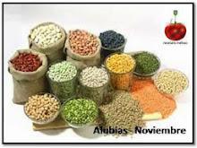 Noviembre 2014: Alubias