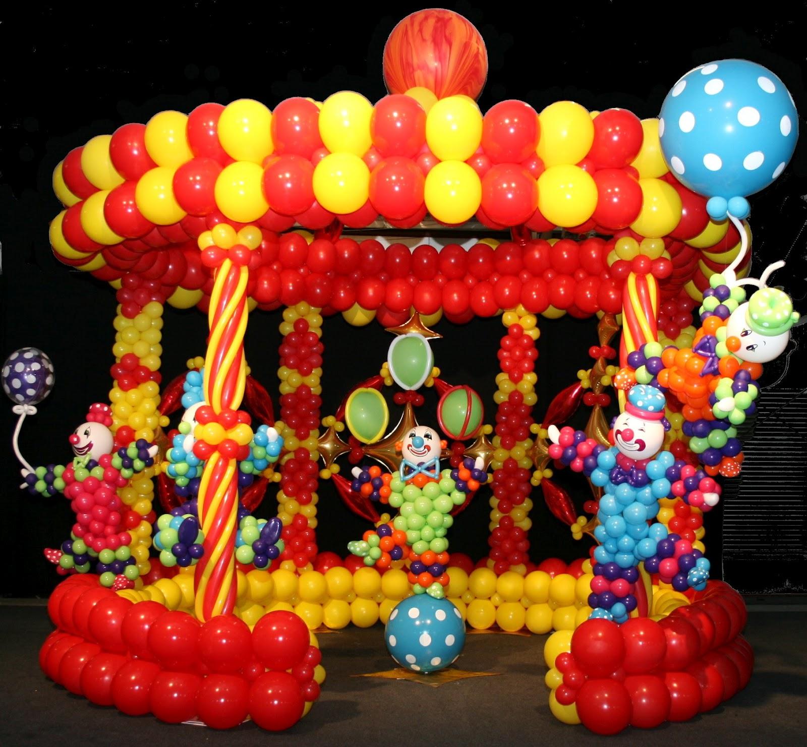 Circus Balloon Centerpiece : The very best balloon sue s recipes