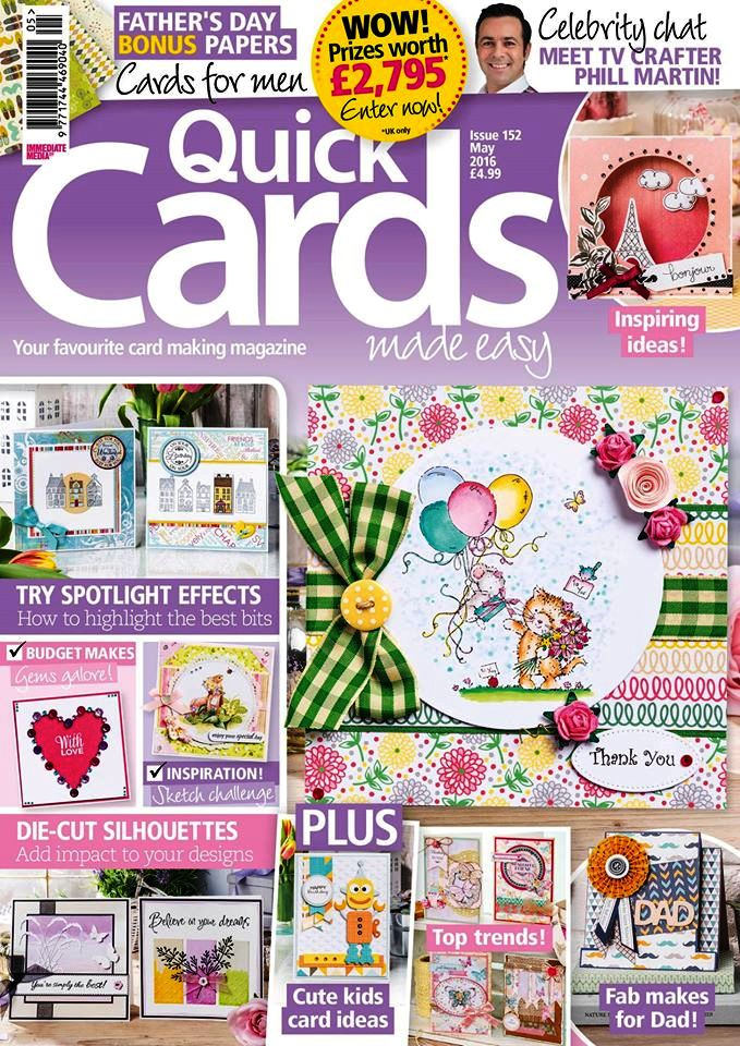 Published in Quick Cards Made Easy - Issue 152