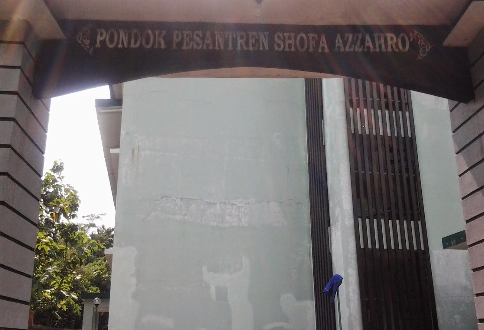 Pintu Gerbang PP Shofa Azzahro