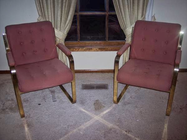 Brass Chairs   $80