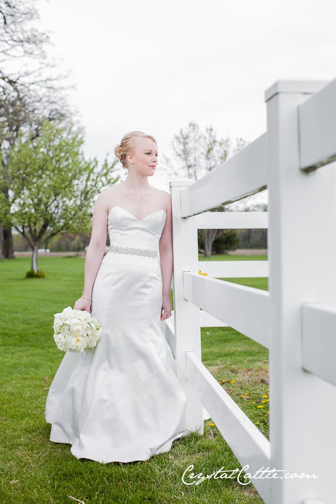 Crystal Cattle: Wedding: Rivini Wedding Dress and Kristen Kuehn Belt