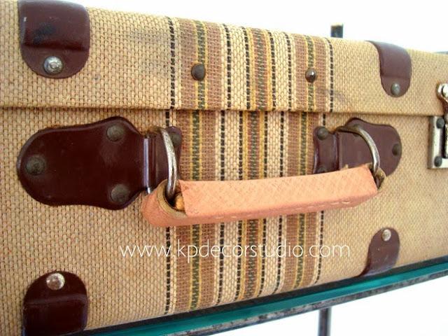 Comprar maleta vintage de viaje años 30