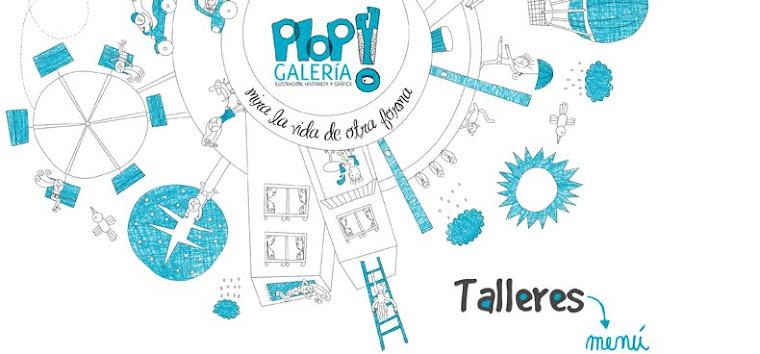 Talleres PLOP! Galería · Ilustración Chile