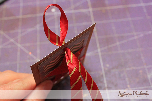 Star Christmas Gift Tags Tutorial 9 by Juliana Michaels