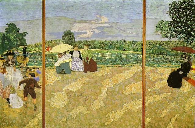 Jardins publics de Edouard Vuillard