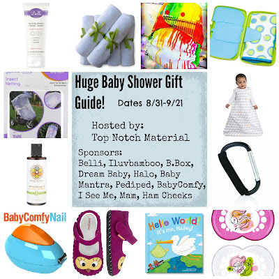 Huge Baby Shower Gift Guide Giveaway Ends 9/21
