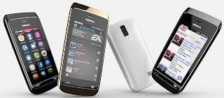 Gambar Nokia Asha 310 Full Touch Dual SIM WiFi
