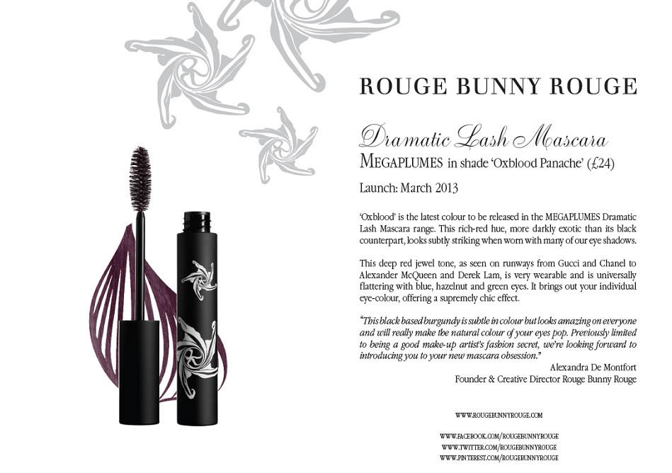 Nuovo mascara di Rouge Bunny Rouge!