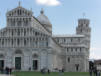 Road trip Italy - Pisa, Tuscany (Leaning tower and Renaissance architechture, Piazza Dei Miracoli)