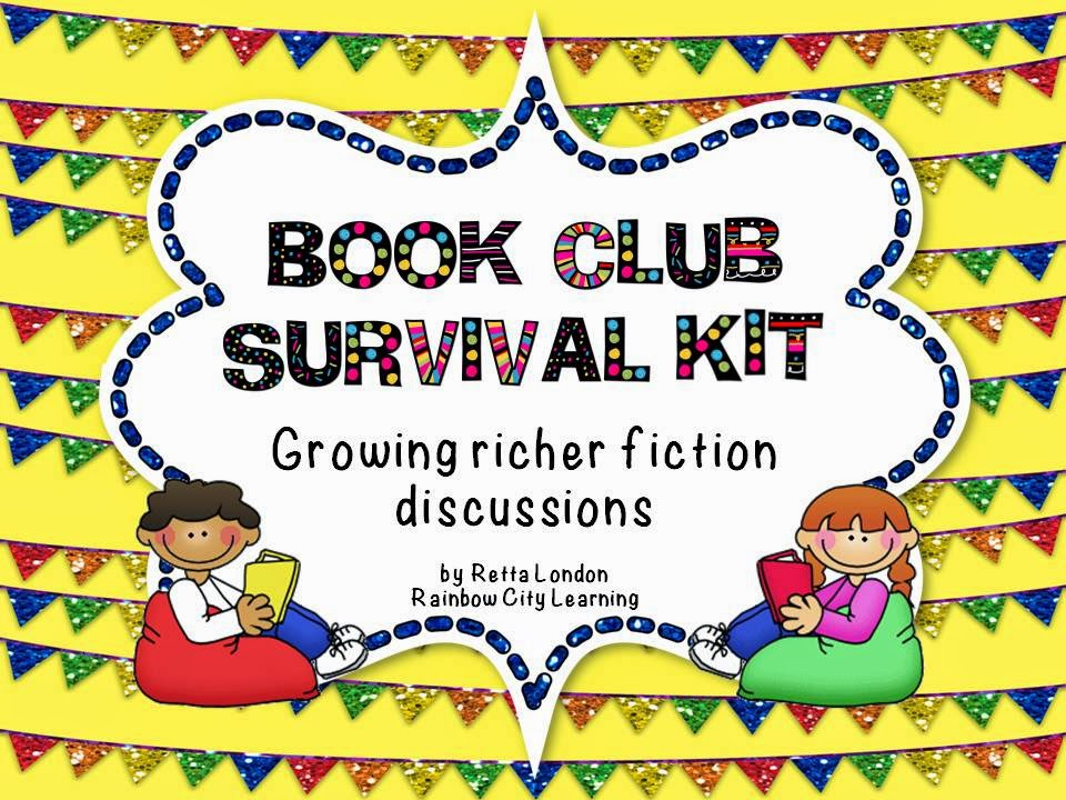 http://www.teacherspayteachers.com/Product/Book-Club-Survival-Kit-Growing-Richer-Fiction-Discussions-667145