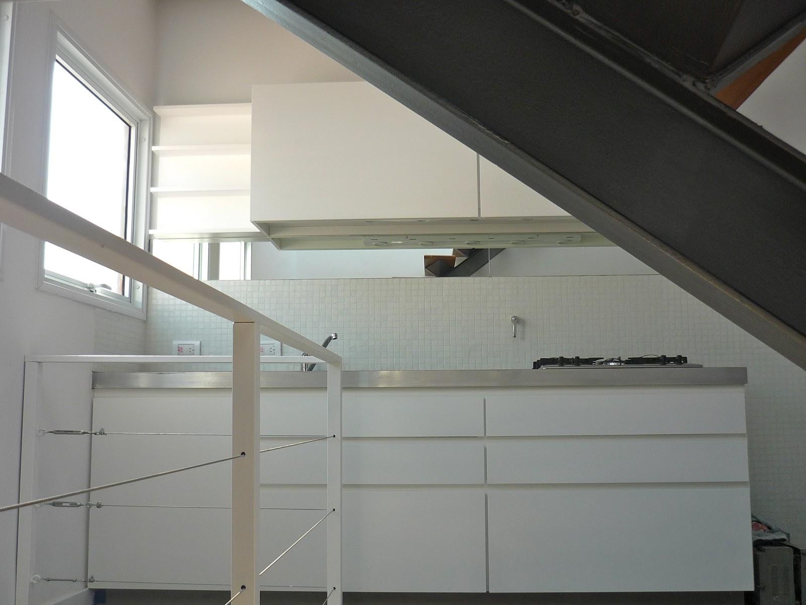 Kasa cocina minimalista blanca white minimalist kitchen for Kasa diseno interior