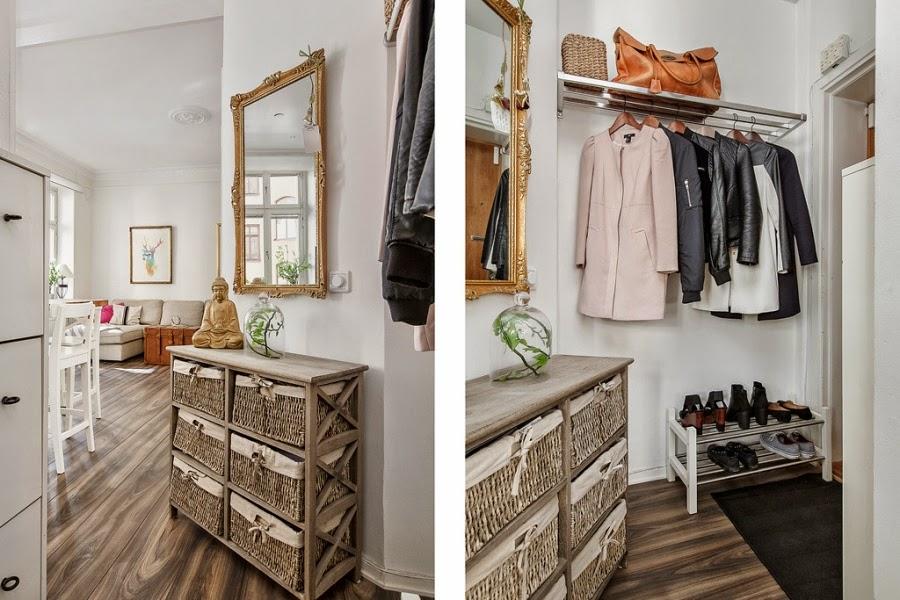 wystrój wnętrz, home decor, wnętrza, białe wnętrza, biel, styl skandynawski, minimalizm, przedpokój