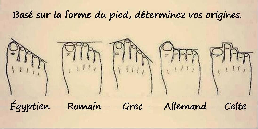 C'est le pied !!! Formedupied