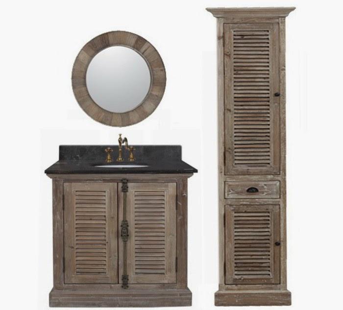 rustic bathroom vanity in standings of the antique bathroom vanities