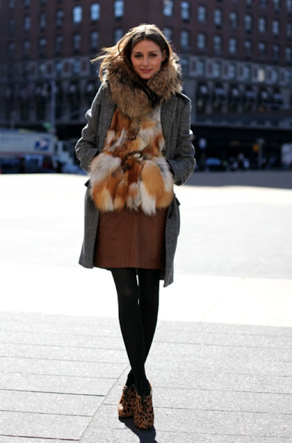 Trend Faux Fur And Animal Print The Lilac Mannequin