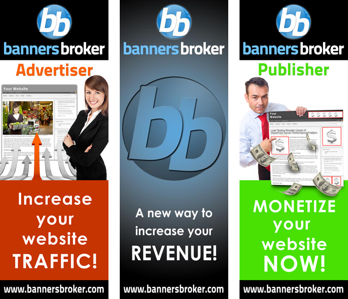 Banners broker 50 or 100