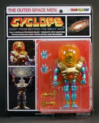 Four Horsemen Outer Space Men Cyclops
