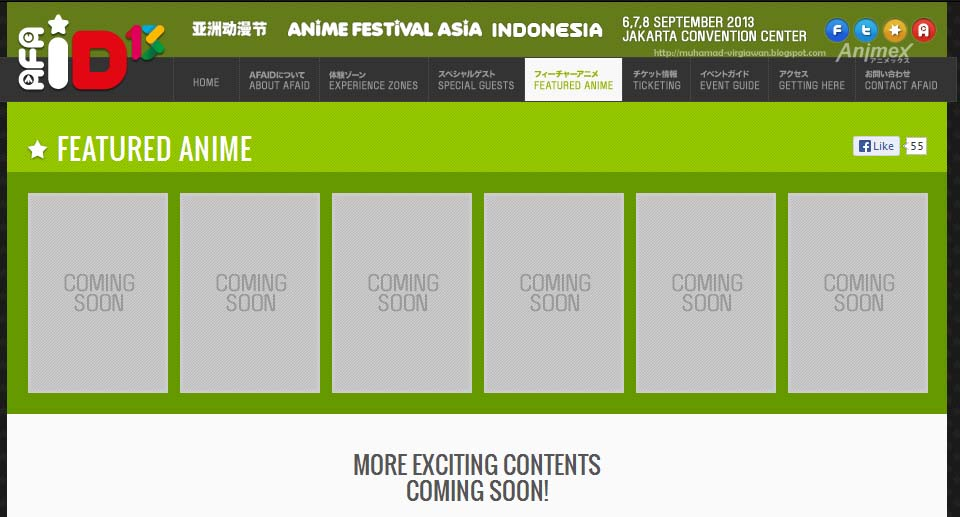anime festival indonesia 2013