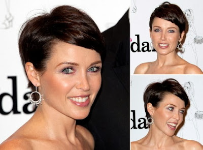 Dannii Minogue Short Hairstyles Season