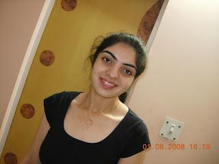 indian girl in black top
