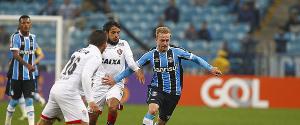 Grêmio 1 x 2 Vitória: Veja os gols