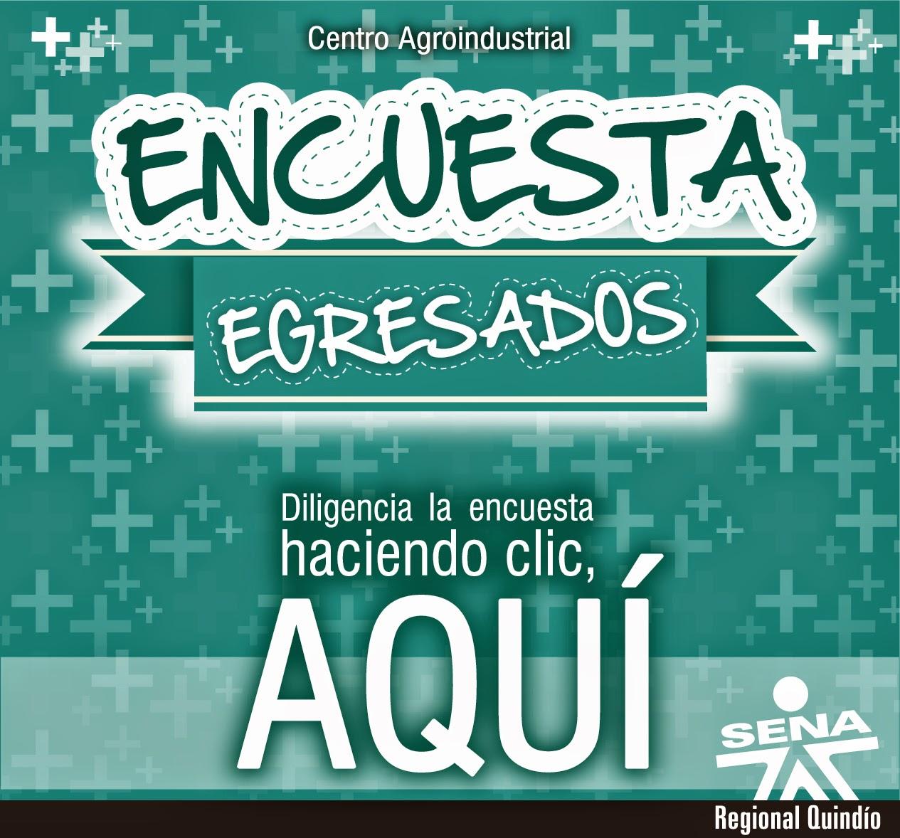 Encuesta Egresados - Centro Agroindustrial