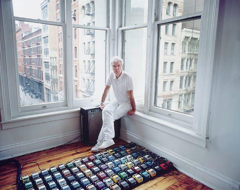 David Byrne Pedalboard