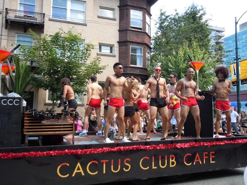 Vancouver Pride Parade Cactus Club