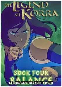 Avatar A Lenda de Korra 4 Temporada Torrent HDTV