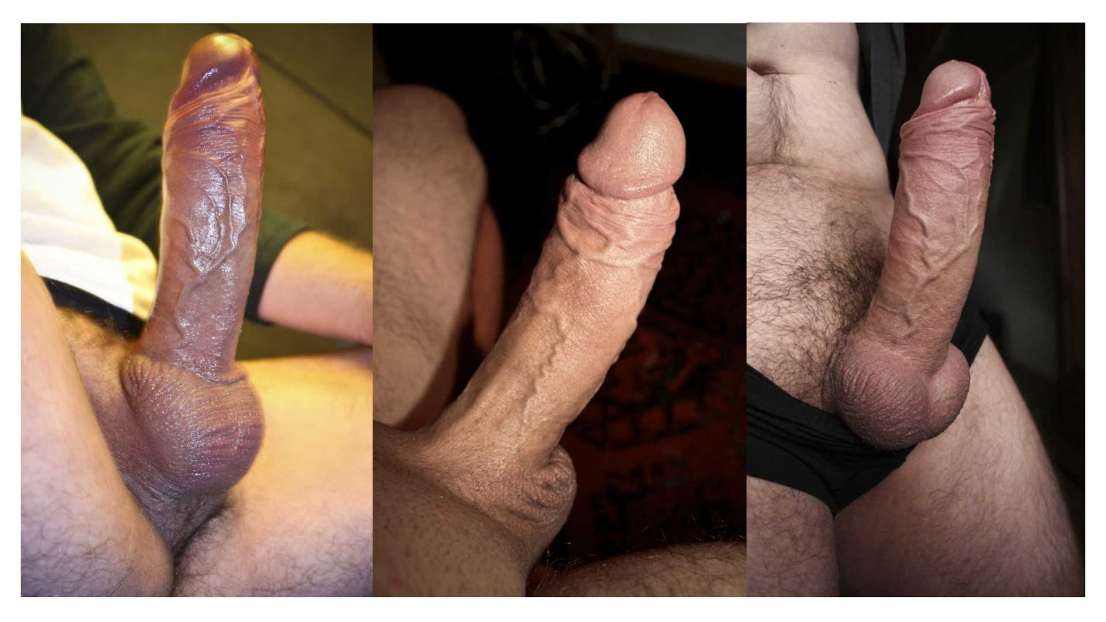 black cock collage