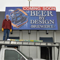 Beer By Design sign