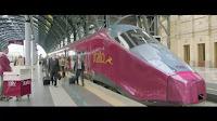 spot italo treno con canzone azzurro - stazione milano