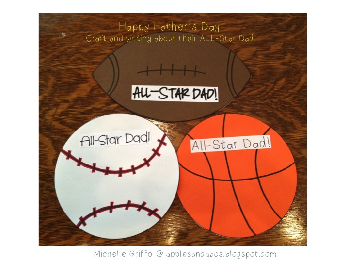 Football Fathers Day Crafts