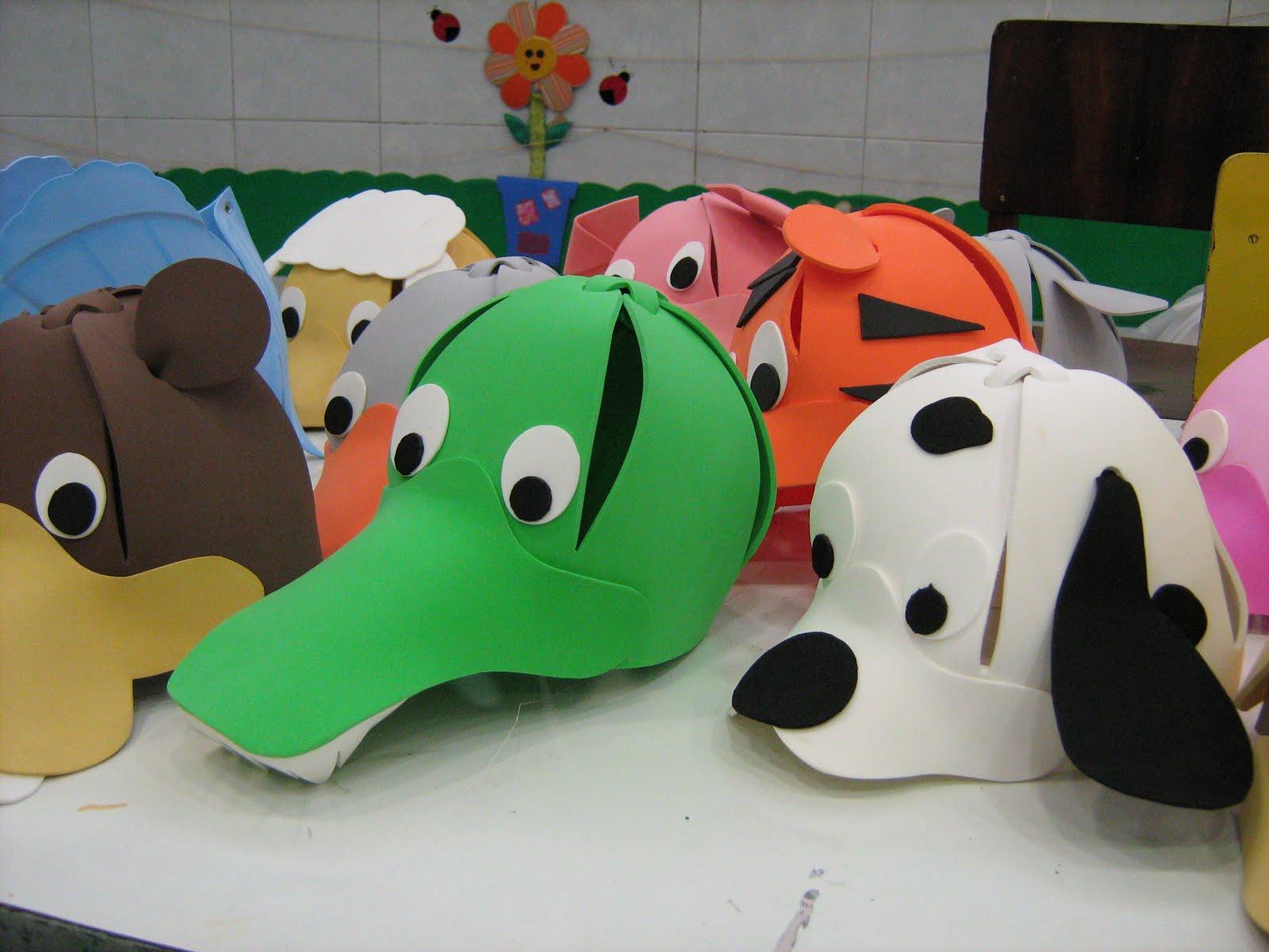 Sombreros De Goma Eva