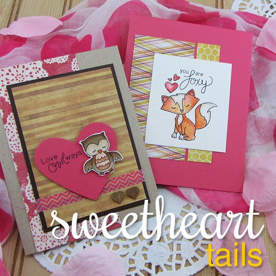 Sweetheart Tails Stamp set by Newton's Nook Designs