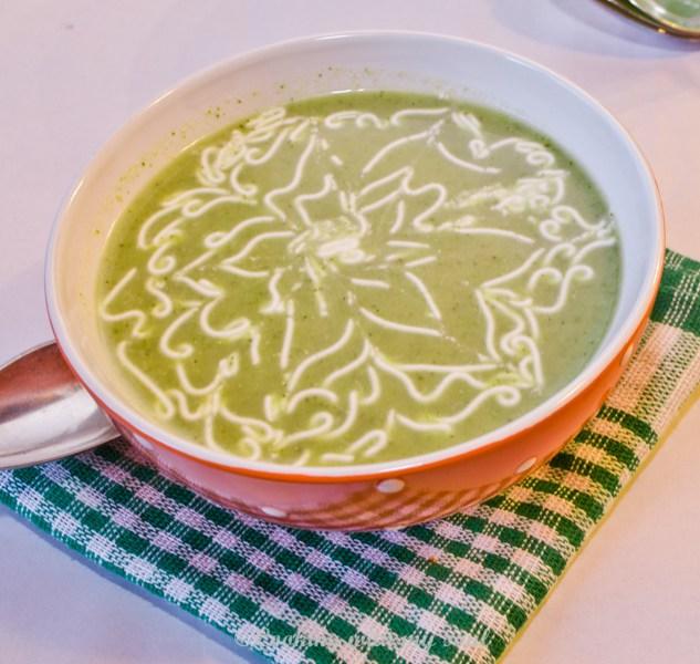 Supa crema din broccoli