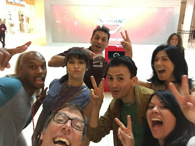 Nissan Ride Of Your Life Contestants Selfie